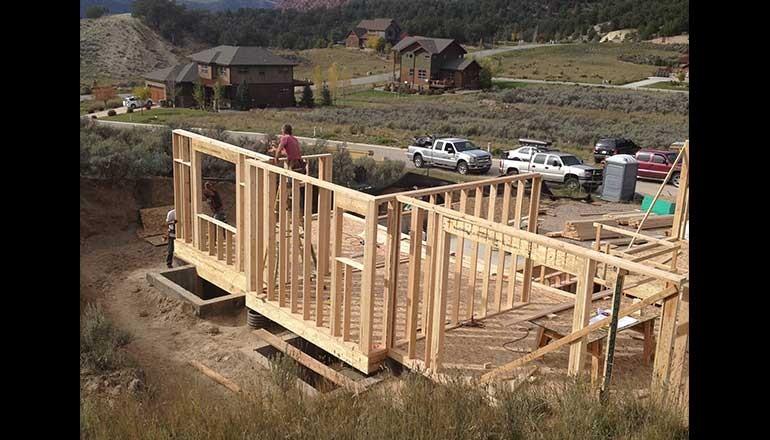 pinyon mesa new home construction by aspen built homes